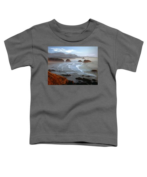 Cannon Beach At Sunset Toddler T-Shirt