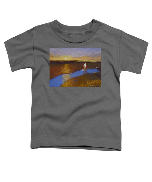 Cape Cod Clamming Toddler T-Shirt