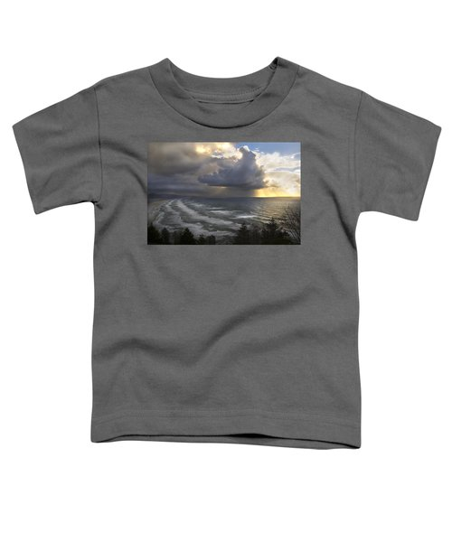 Sunset At Cape Lookout Oregon Coast Toddler T-Shirt