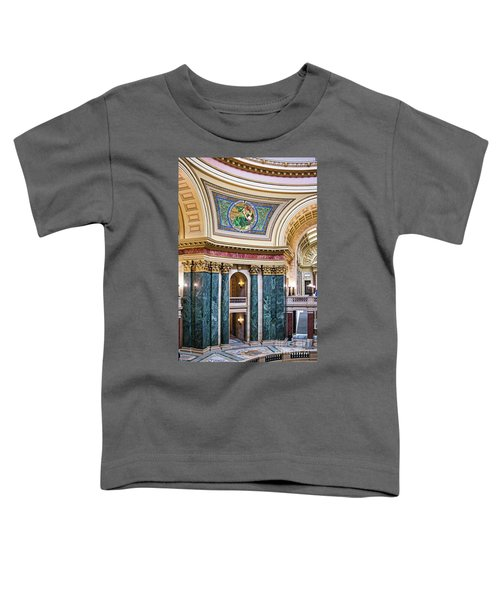 Capitol - Madison - Wisconsin Toddler T-Shirt
