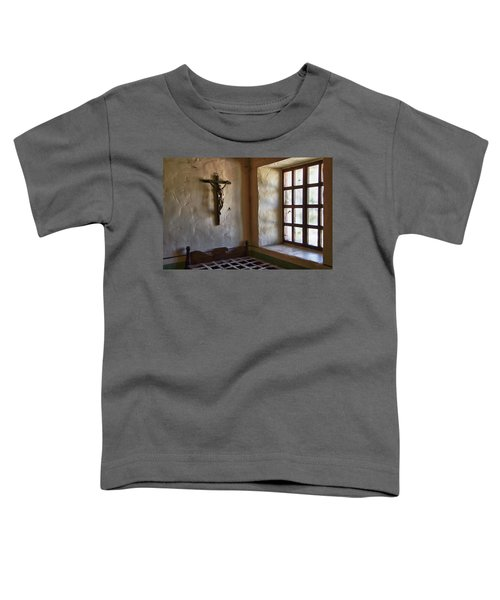 Carmel Mission 4 Toddler T-Shirt
