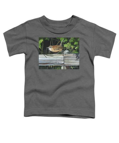 Carolina Wren Toddler T-Shirt