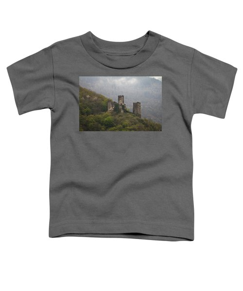 Castle In The Mountains. Toddler T-Shirt