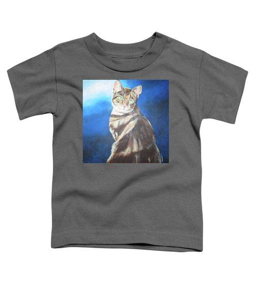 Cat Profile Toddler T-Shirt