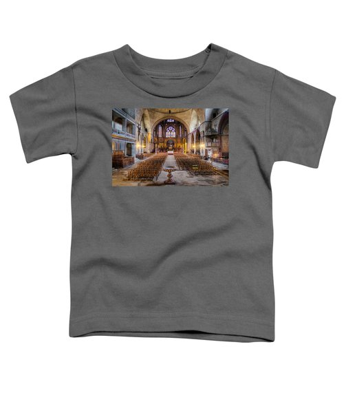 Cathedrale Saint-etienne Interior / Cahors Toddler T-Shirt