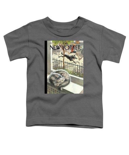 Catnap Toddler T-Shirt