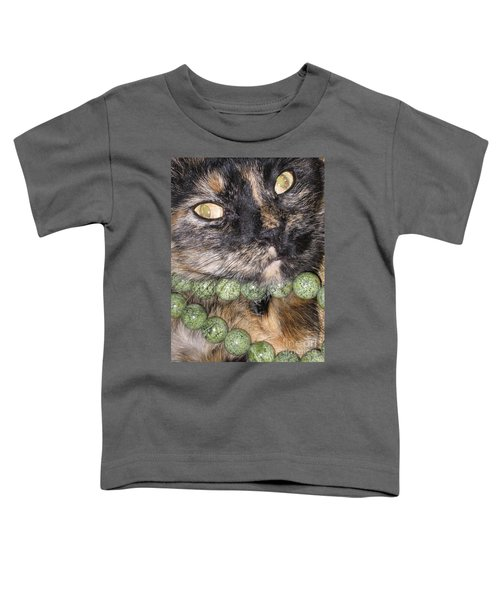 One In A Million... Beauty Of Cat's Eyes. Hello Pearl Collection Toddler T-Shirt