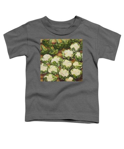 Cauliflower March Toddler T-Shirt