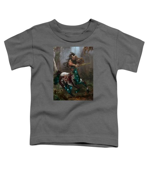Centaur Token Toddler T-Shirt by Ryan Barger