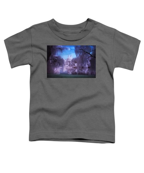 Central Park Lake Willows Color Toddler T-Shirt