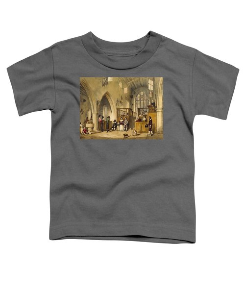 Chapel At Haddon Hall, Derbyshire Toddler T-Shirt