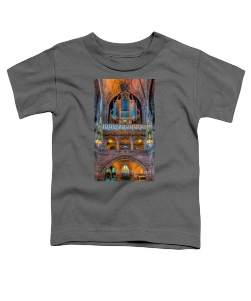 Chapel Organ Toddler T-Shirt