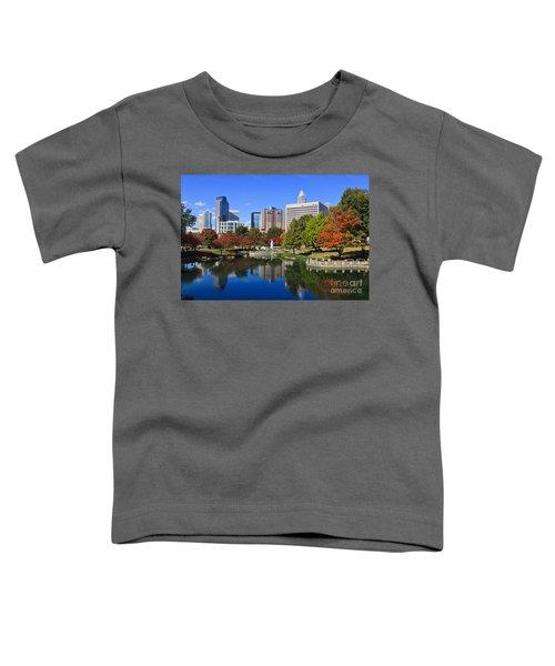 Charlotte North Carolina Marshall Park Toddler T-Shirt