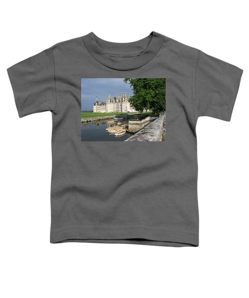 Chateau Chambord Boating Toddler T-Shirt