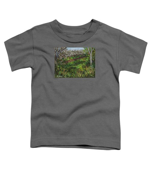 Cherry Orchard Evening Toddler T-Shirt