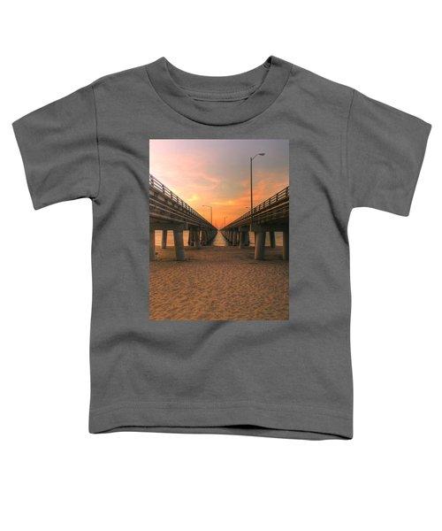 Chesapeake Bay Bridge IIi  Toddler T-Shirt