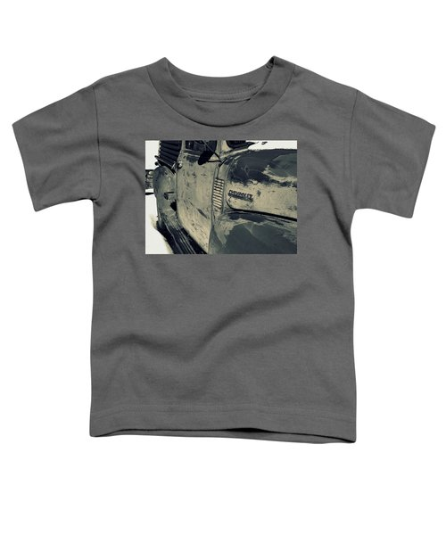Arroyo Seco Chevy In Silver Toddler T-Shirt