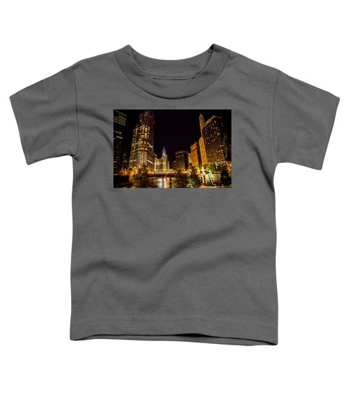 Chicago Riverwalk Toddler T-Shirt