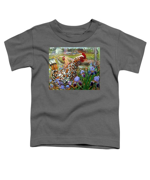 Chick And Iris Toddler T-Shirt