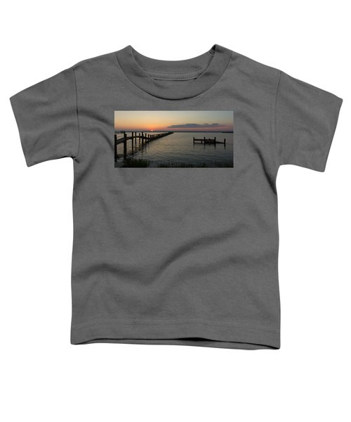 Chincoteague Island Sunset Toddler T-Shirt
