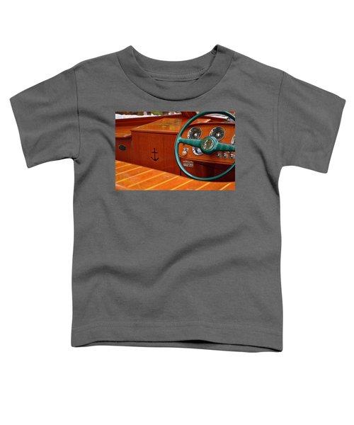 Chris Craft Cockpit Toddler T-Shirt
