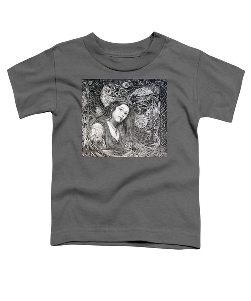 Christan Portrait Toddler T-Shirt