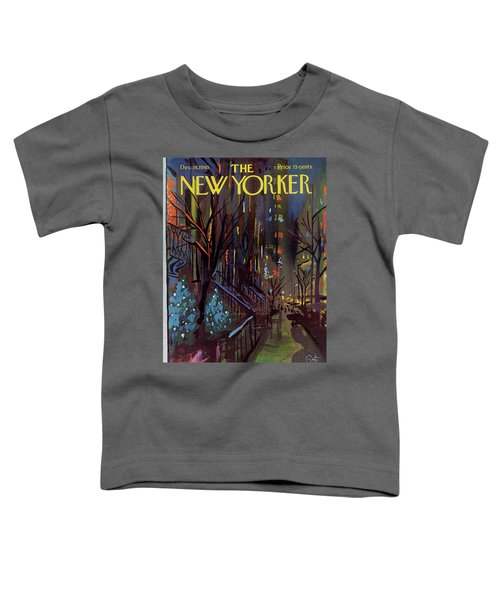 Christmas In New York Toddler T-Shirt