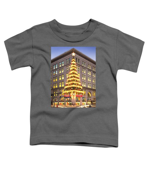 Christmas In Pittsburgh  Toddler T-Shirt