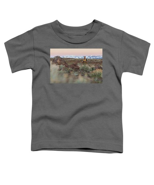 Chukar Hunting In Nevada Toddler T-Shirt