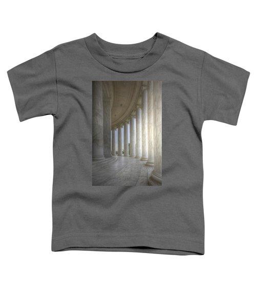 Circular Colonnade Of The Thomas Jefferson Memorial Toddler T-Shirt