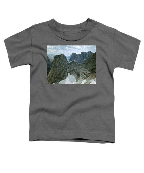 209615-cirque Of Towers, Wind Rivers, Wy Toddler T-Shirt