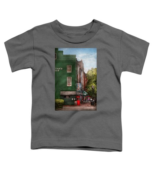 City - Baltimore - Fells Point Md - Bertha's And The Greene Turtle  Toddler T-Shirt