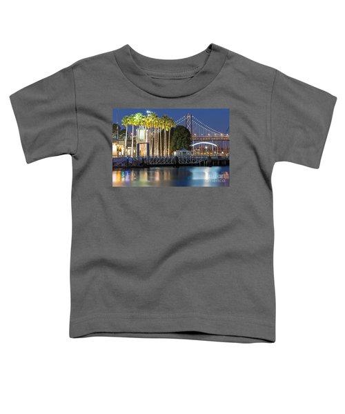 City Lights On Mission Bay Toddler T-Shirt