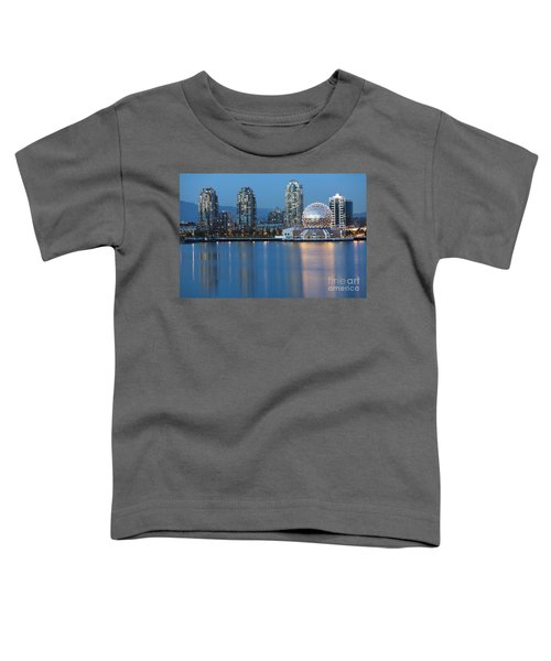 City Skyline -vancouver B.c. Toddler T-Shirt