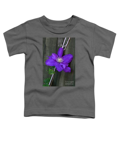 Clematis On A String Toddler T-Shirt