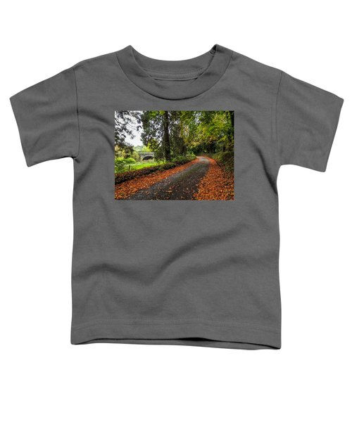 Toddler T-Shirt featuring the photograph Clondegad Country Road by James Truett