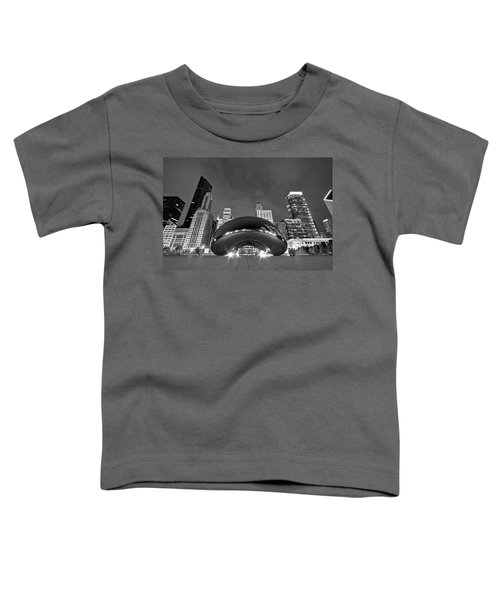 Cloud Gate And Skyline Toddler T-Shirt
