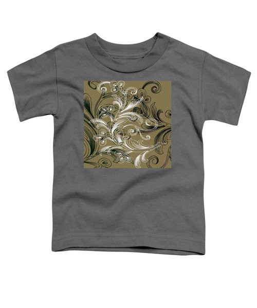 Coffee Flowers 4 Olive Toddler T-Shirt