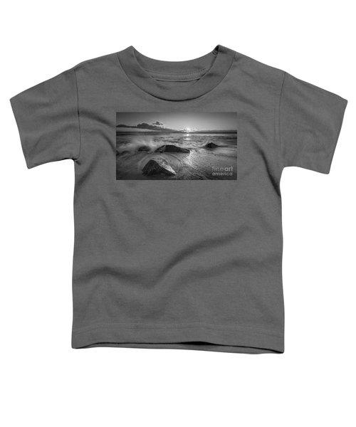 Cold Sunrise Bw Toddler T-Shirt