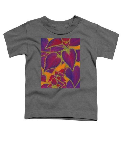 Coleus Gone Wild Toddler T-Shirt