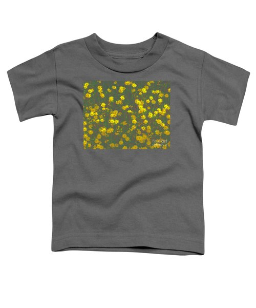 Color Flower Wall Toddler T-Shirt