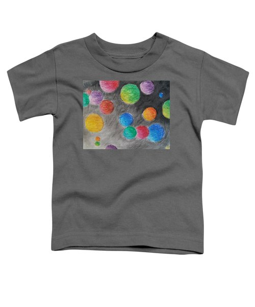 Colorful Orbs Toddler T-Shirt