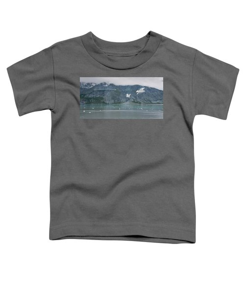 Colors Of Alaska - Glacier Bay Toddler T-Shirt