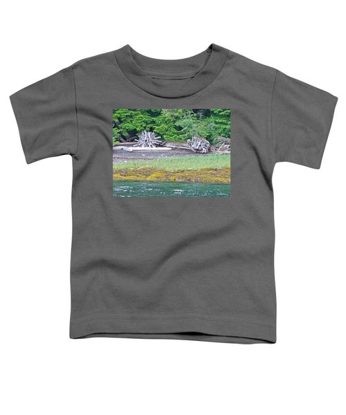 Colors Of Alaska - Layers Of Greens Toddler T-Shirt