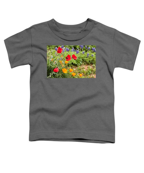 Colors Of Spring Toddler T-Shirt