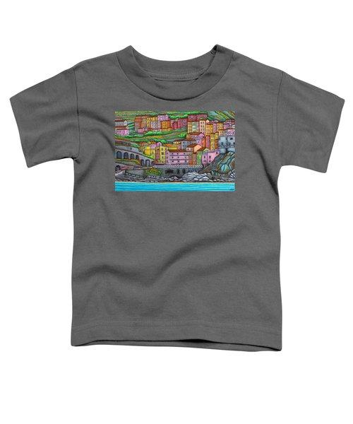 Colours Of Manarola Toddler T-Shirt
