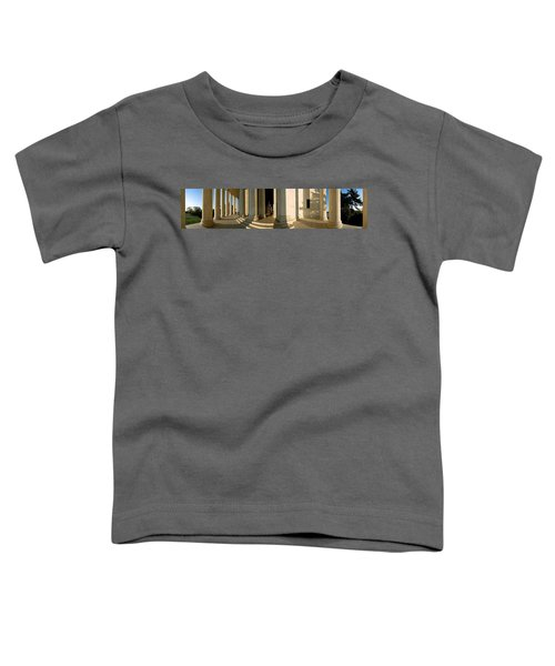 Columns Of A Memorial, Jefferson Toddler T-Shirt by Panoramic Images