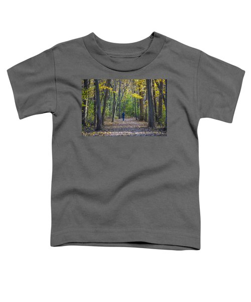 Toddler T-Shirt featuring the photograph Come For A Walk by Sebastian Musial