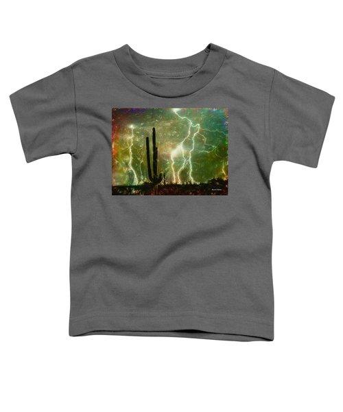 Computer Generated Image Of Lightening Toddler T-Shirt