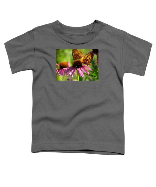 Coneflower Butterflies Toddler T-Shirt
